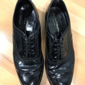 Johnston & Murphy Vintage Wingtip Size 12D Lace Up